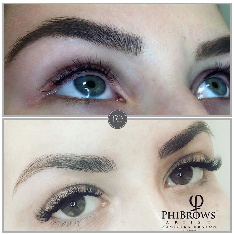 Microblading brows; Semi permanent liner and brows ...